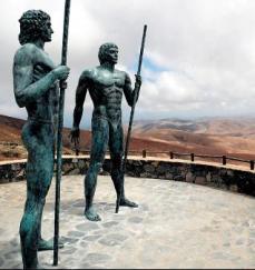 estatua guanche